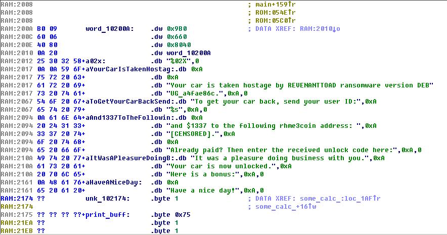 RHME3 Firmware Reversing Hints   ctf